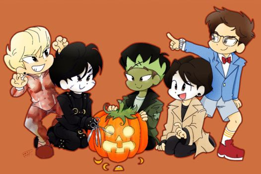 Halloween 2014 (GIF version) by Pulimcartoon