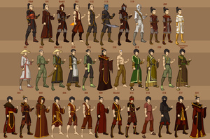 Zuko's Wardrobe by DressUp-Avatar