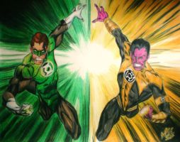 Green Lantern by jaZzLIn3egurll