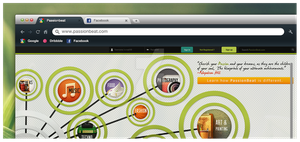 Passionbeat Home Page concept by jamalaftab