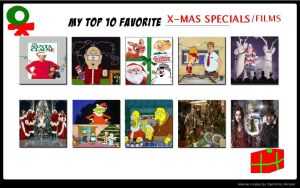 VH87's 10 Favorite Christmas Specials Films by VoyagerHawk87