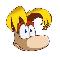 Rayman's... head by Sandette