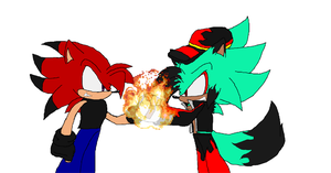 Partners of Flames by FrostBurned-Soul