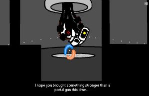 Portal 2 in MS Paint by deduce-me