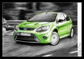 Ford Focus RS by smudlinka66