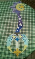 W.I.P 2 - Star Seeker Keyblade by kngdmhrts2