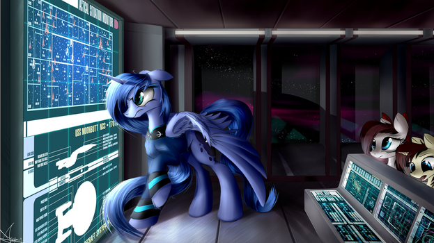 All Power to Photon Torpedoes!! by AurelleahEverfree