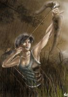 Finished New Lara Croft by littlesusie2006