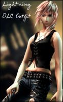 Dissidia 012 Lightning DLC by raidergale