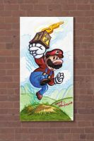 MarioDrawing by Stnk13