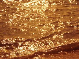 Gold Sparkles by limegreenguitar