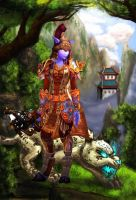 Cristena in Pandaria by Meorow