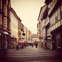 streets of Goettingen by r0xyz3r0
