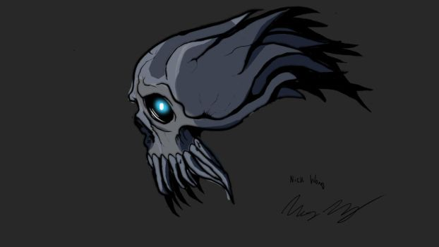 Reaper Skull by Nocluse