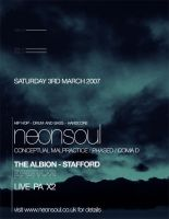 Neonsoul Flyer by notiondigital