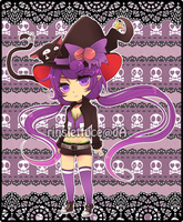 Adoptables02: Macaron Witch [CLOSED] by Rinslettuce
