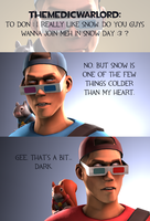 Ask CnD No. 152: Colder Than Me by ZeFlyingMuppet