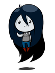Chibi Marceline by Chiherah