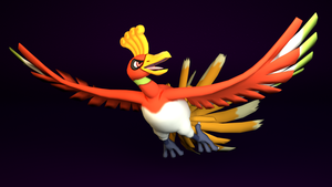 #250. Ho-Oh by TheAdorableOshawott