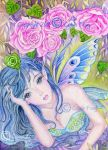 The Arrival of Spring - ACEO by redwineroses