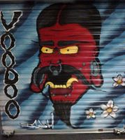 voodoo piercing demon by icoh