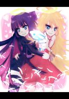 Panty and Stocking by Yu-nicorn