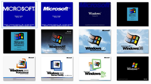 Classic Windows BootScreens for Windows 7 by Exorico