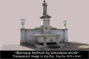 Baroque bathtub - transparent by almudena-stock