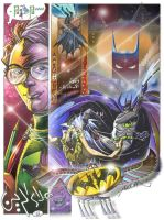 "Batman at ""Anubis""s night. p.8 by aladinsaad"