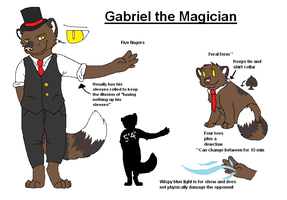 Gabe the Great Ref by BanditKat