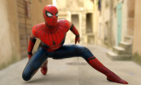 Spider-Man Home Coming  Genesis 2 Male by guhzcoituz