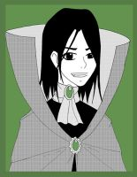 Severus Snape by Kagane by Hogwarts-Castle
