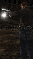 Leon RE4 Darkside by a-m-b-e-r-w-o-l-f
