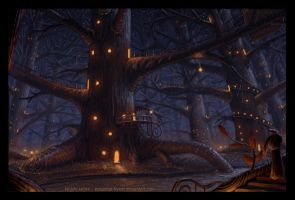 Big-Tree Village by Industrial-Forest
