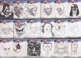Ugliest sketch cards by MarkIrwin