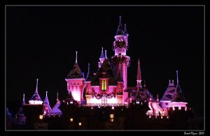 Disney Castle by DarthIndy