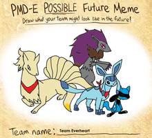 PMD Meme: Future Team Everheart by XfangheartX