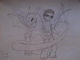 desenhos TH CHARIZARD and TH by NEOcraver