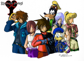Kingdom Hearts VVV Group by General-RADIX