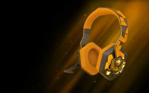 Deus Ex:Human Revolution Headphones by DoramiRex