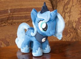 Princess Luna (Filly) Plushie by navkaze