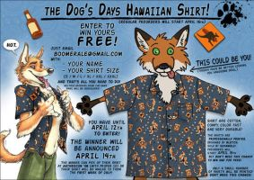 Dog's Days Hawaiian Shirt by screwbald