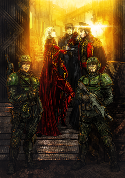 For the Emperor! by Waldes