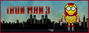 Ironman 3 Facebook Cover by GTR26
