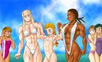 Day at the beach 1 by Dannyfannumber1