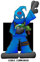 Lil' Cobra Commander by 5chmee