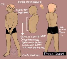 Prince Jakiel Body Ref by GingerQuin