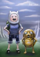 Adventure time sketch! by Markdotea