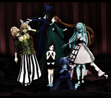 HALLOWEEN SPECIAL DL: Dark Woods Circus by Jjinomu