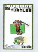 Donatello Sketch cover by johnnyism